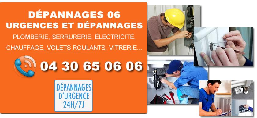 Urgences Dépannages 06